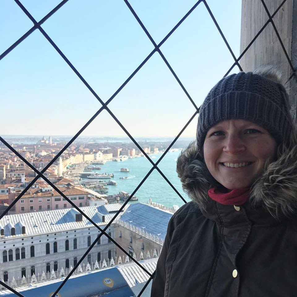 Me at the top of Champanile di San Marco in Venice. So apparently I will climb scary, tall things but only when I travel!