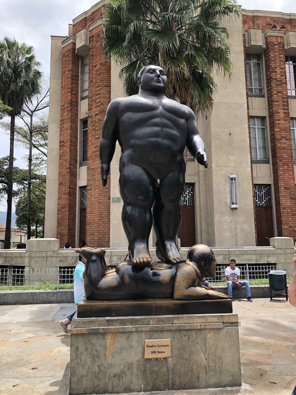 We visited Botero Square where we were able to see more of our favorite chubby art.