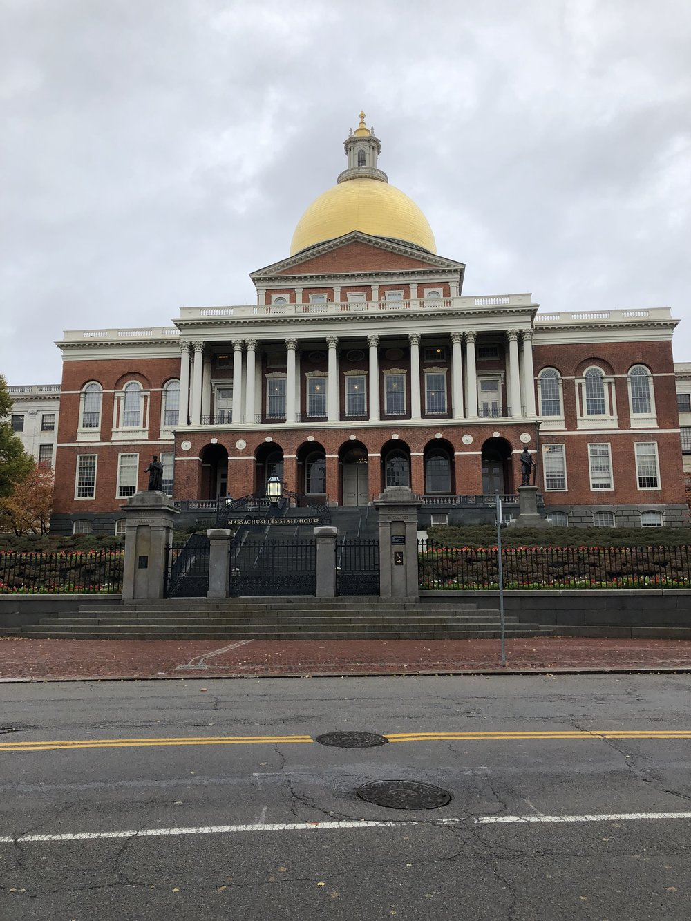 Government buildings, churches, burial grounds all make up the Freedom Trail.