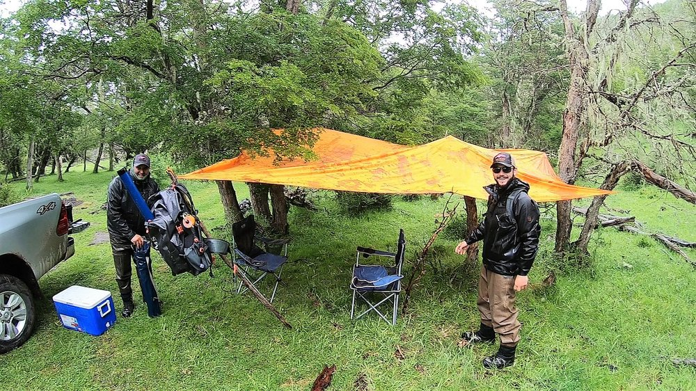 Gaucho lunch tent