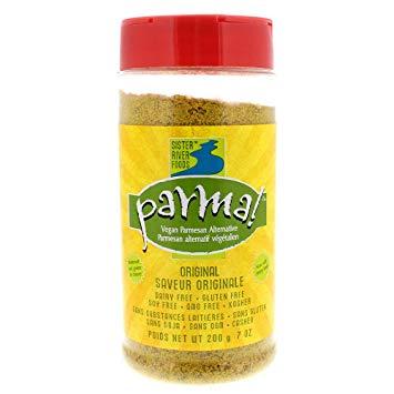 parma! vegan parmesan alternative