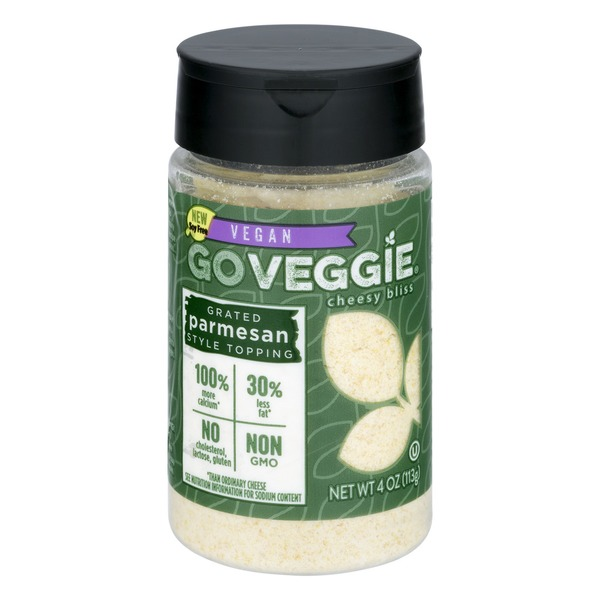 go veggie vegan parmesan cheese