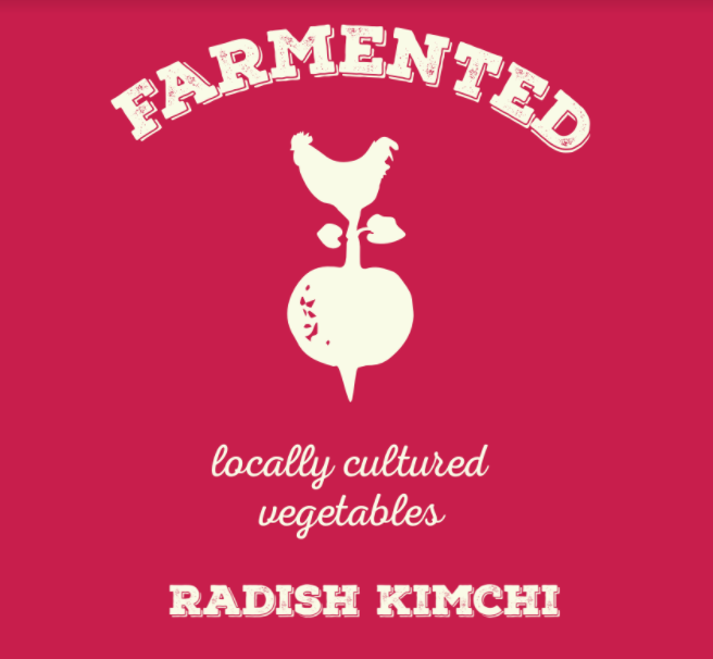 Radish Kimchi - ere at Farmented we like to keep things interesting. That's why we decided to put a new twist on an ancient food. Instead of the typical cabbage used in kimchi, we substituted radishes. Trust us...you won't miss the cabbage. Add to your favorite egg scramble, top of your avocado toast or use it as a side to liven up even the dullest of meals. Any way you dish it, our radish kimchi won't disappoint.