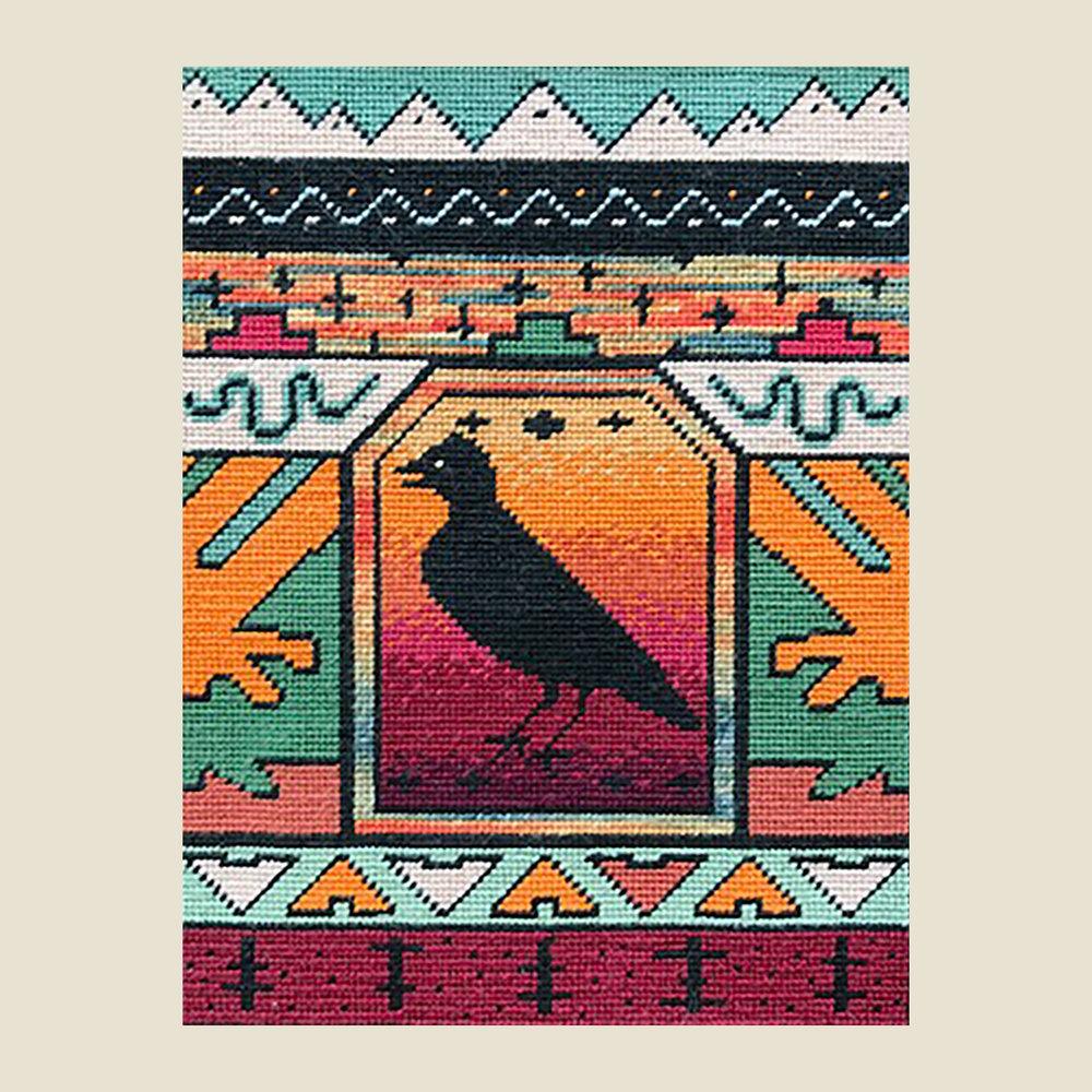 """TROPICAL BIRD   Petitpoint  8"""" x 6"""""""