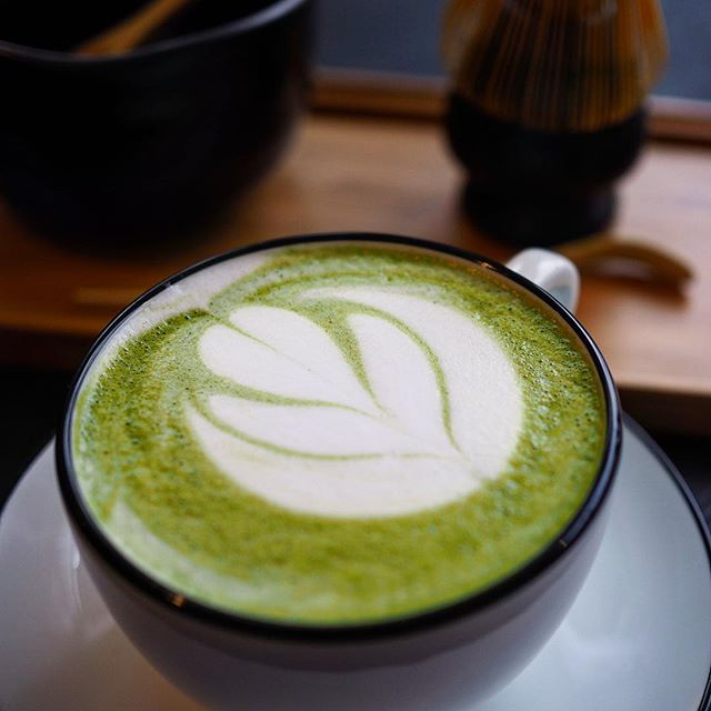 Matcha lookin' at?  #dadjokes #gallatintn #specialtycoffee #tea #tealatte #coffeeshop #nashvillecoffee #nashville #hugotea
