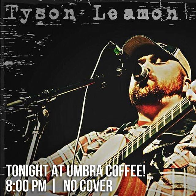 Live Music tonight! Outlaw country featuring the amazing @tysonleamonmusic!  8:00 pm | No cover . . . #livemusic #gallatintn #musiccity #sumnercountytn #onthesquare #umbracoffee #nashville #outlawcountry