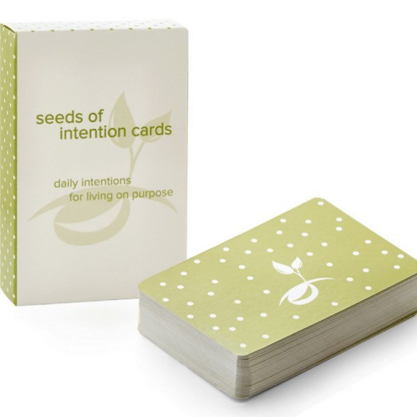 This month's feature is a deck of Seeds of Intention Cards from our friends over @mayyouknowjoy  If you ever wanted to achieve anything or maybe you just want to feel good about your day. These cards are a great pocket size reminder for living on purpose.