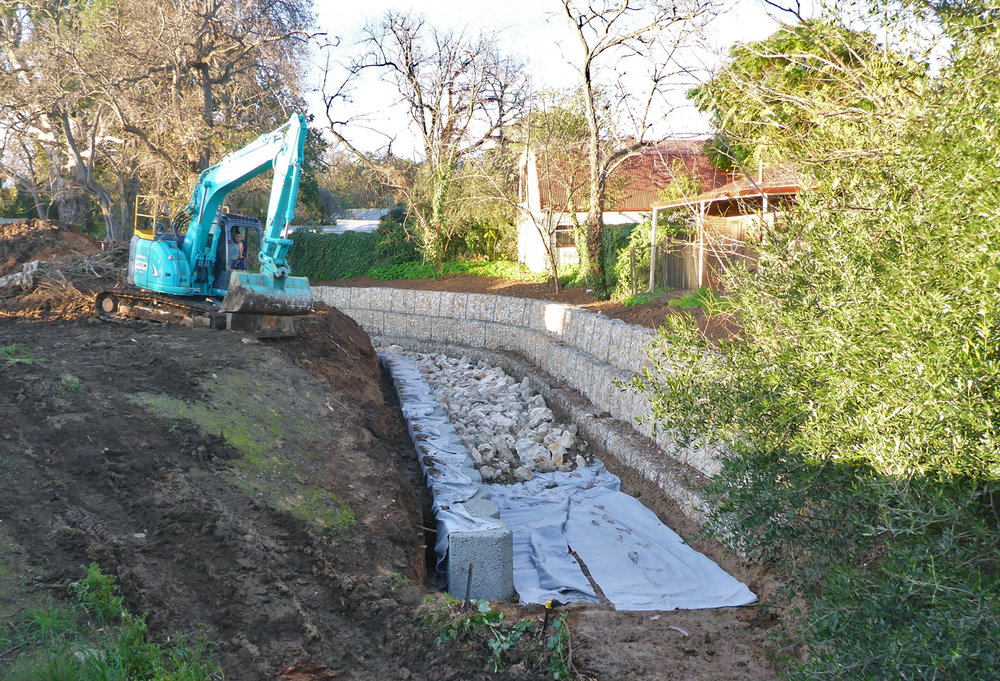 Brownhill Creek, Ashford. Photos courtesy of Prospect Contractors