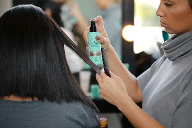 - STEP 1Cleanse and Condition with Flawless by Gabrielle Union Smoothing Shampoo and Hair Repair Masque.STEP 2To damp hair, apply a cocktail of Blow Dry Cream and Oil Treatment from mid-length of the hair through the ends. Use a boar bristle paddle brush and your blow dryer's nozzle attachment to dry hair in small sections, keeping it close to the head and flat.