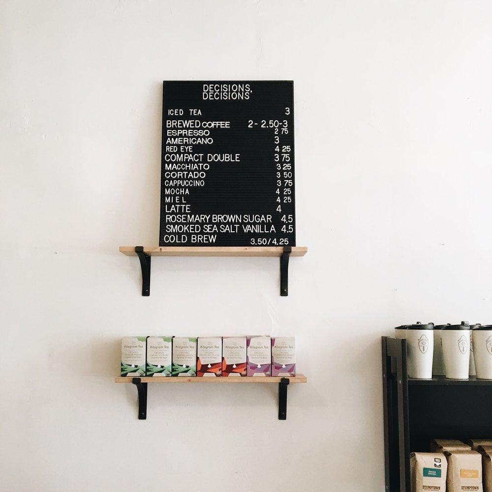 cafe domestique menu