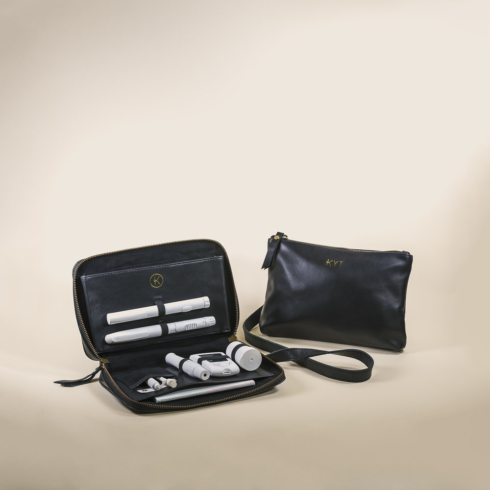 KYT Crossbody organises life essentials and diabetes equipment in separate compartments.