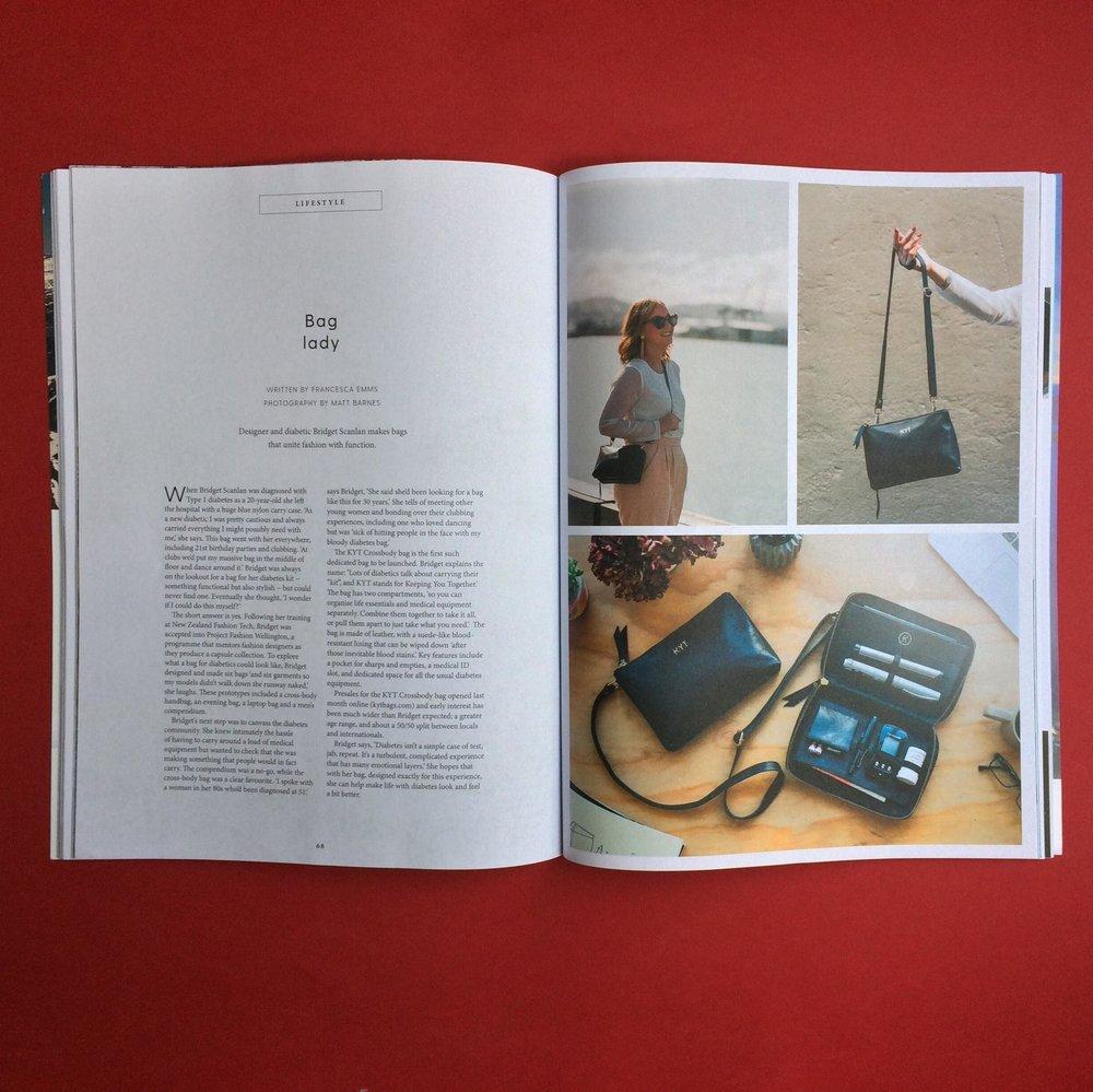 Bag Lady   Capital Magazine; issue 52 Words: Francesca Emms