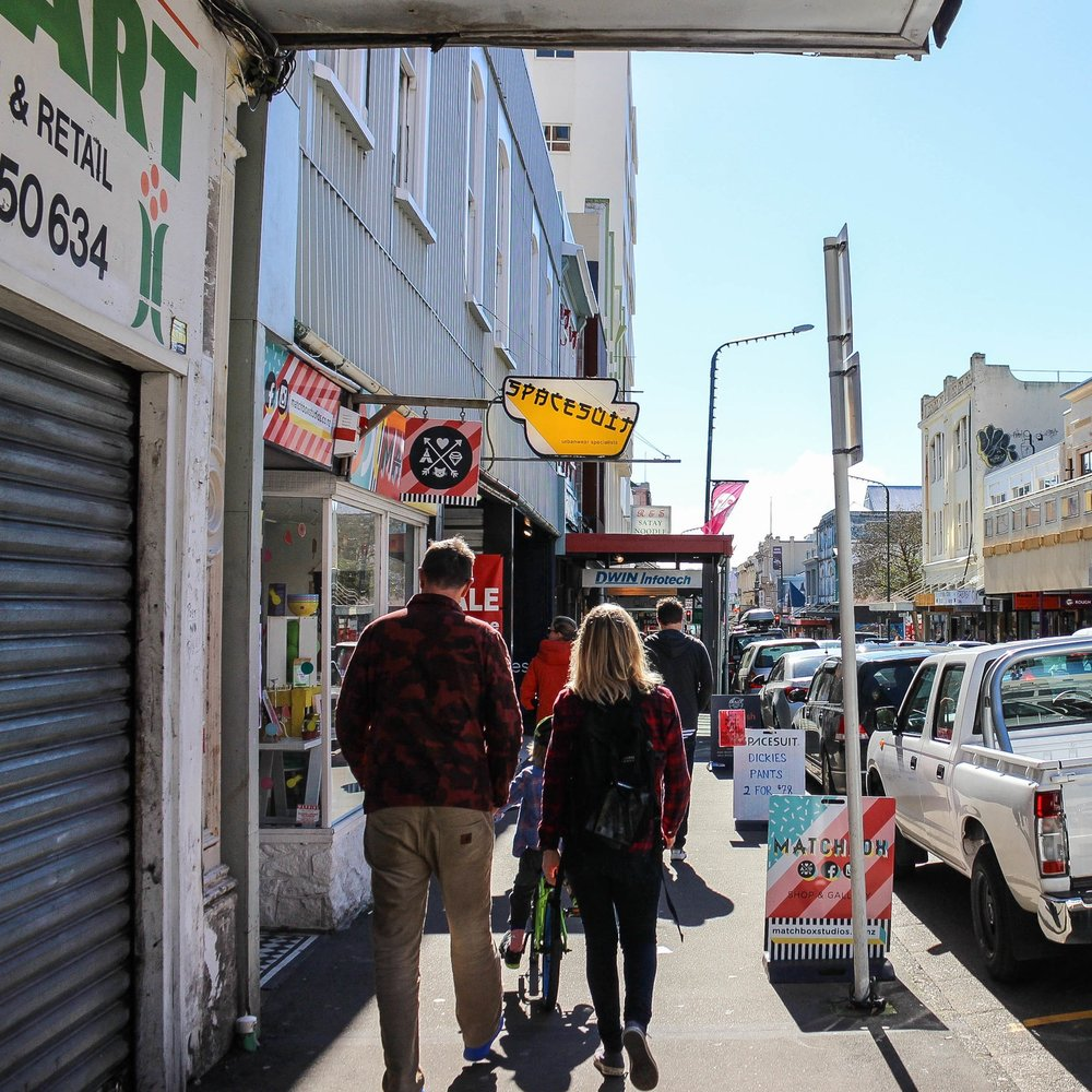 A Cuba Street Tour   Cameo in YouTube vlog by The Residents Video and image: Lucy Revill