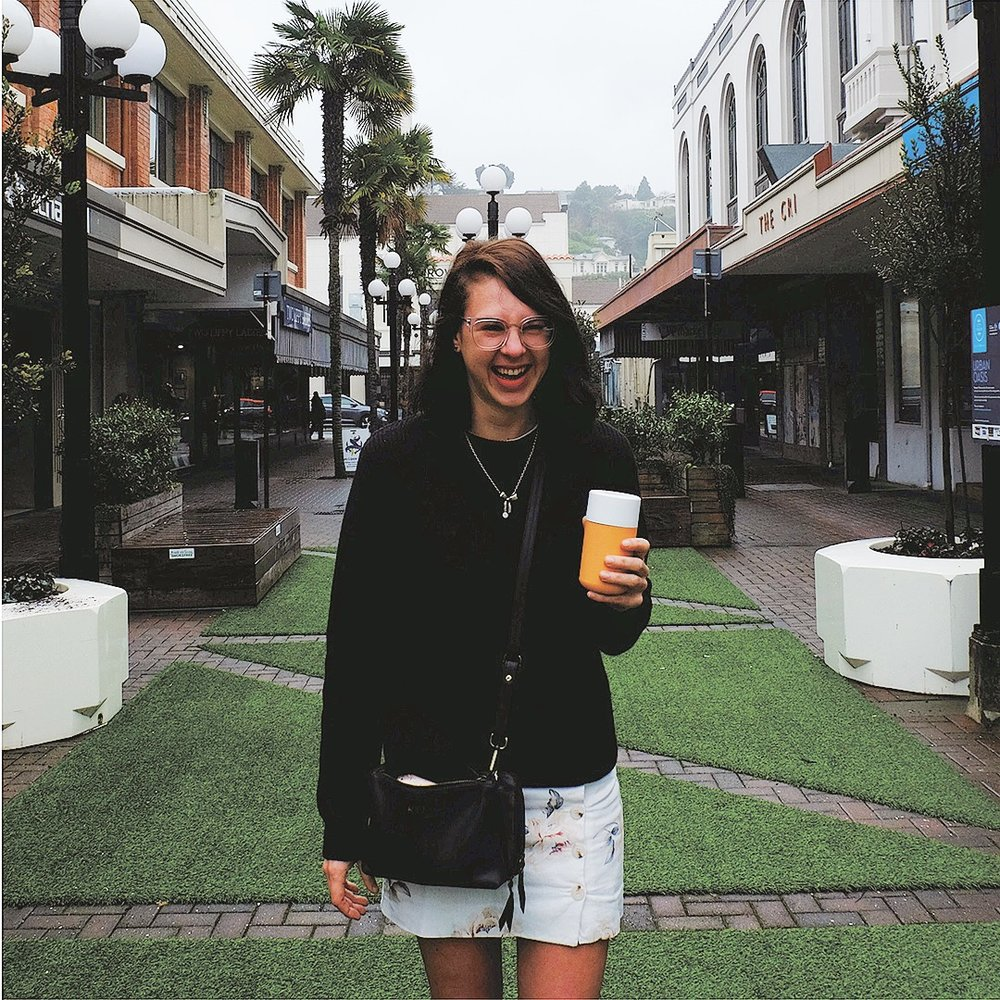 Samantha XXX, Napier, New Zealand   Holistic nutritionist and self-confessed caffeine addict Samantha helps individuals find balance within their health and well-bring through nutrition.  Read her story here >