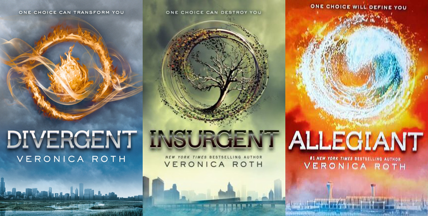 The divergent series, beautifully written by Veronica Roth vividly documents a sixteen year old girls journey to find her place in a dystonian society in which one belongs to one faction or none at all. These books illustrates an intriguing take on dystopian societies in which, as a coming of age ceremony all citizens must choose which faction they wish to belong to, a decision that is mind blowing and definitive. As the main character -Tris - makes this decision, she realizes she has an aptitude for several factions instead of just one. Having an aptitude for more than one faction means that the person is divergent, or genetically perfect. The series takes the reader or a journey that conveys the importance of being an individual; additionally the story connects to a similar journey that teens may face, going through life trying to find where they belong and who they are. Tris' story spoke to me because of its unforeseen twists and turns and how it transcends into the world we live in today, where there are a growing number of dystopian populations due to many facets like warfare, political and socio-economical problems. Although the romance aspect was somewhat impractical and developed way too swiftly, the message and story was highly intriguing and complex and I would recommend this trilogy to any teen.