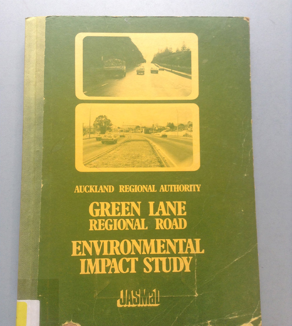 Published in 1973, this was one of New Zealand's first EIRs