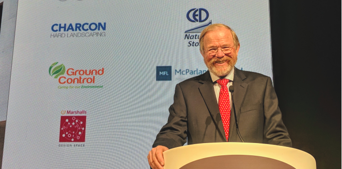 Writer Bill Bryson OBE-  and now an Honorary Fellow of the Landscape Institute in the UK