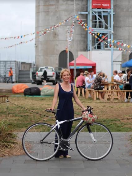 """Lady bike advocate"" -Jessica Rose"
