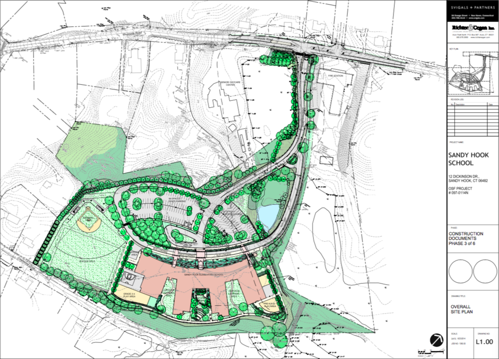 The Sandy Hook rebuild site plan