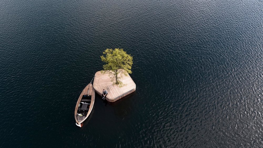The small floating island in Copenhagen could be just the beginning.