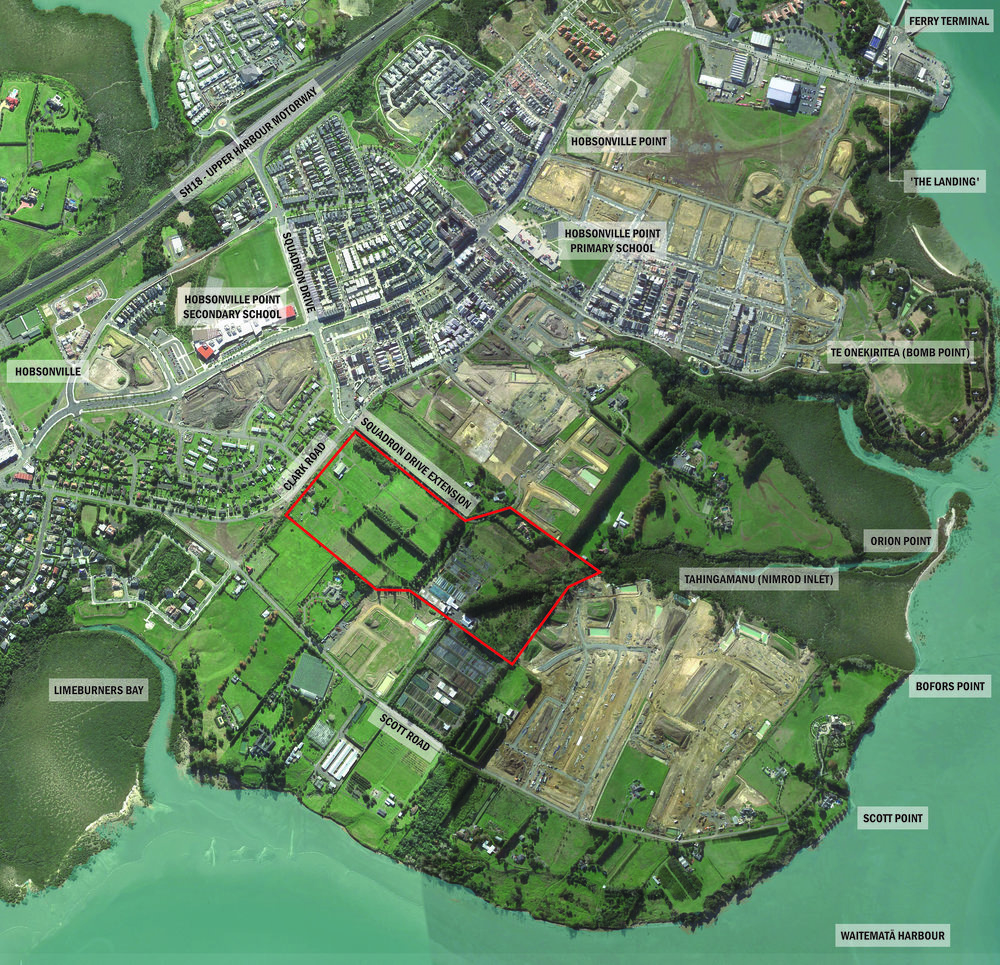 The Scott Point Sustainable Sports Park will become the largest public open space and local sports park for the Scott Point, Hobsonville Point and Hobsonville communities.