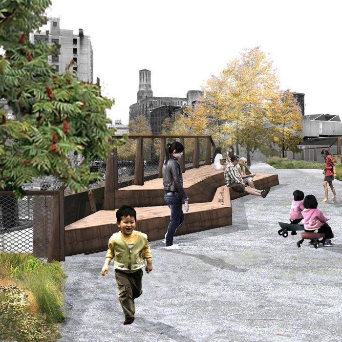 Philadelphia's Rail Park is due to open later this year.