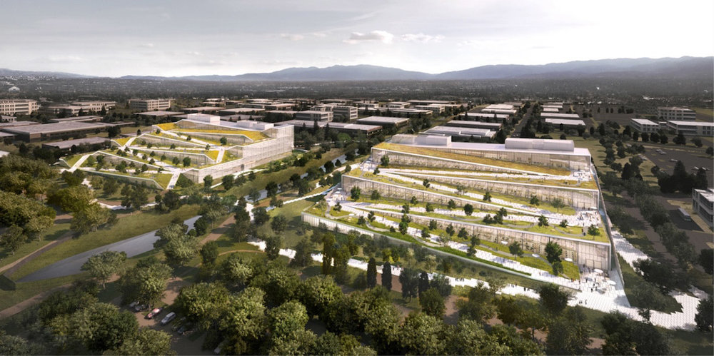 Google wants it's planned campus to be highly sustainable.