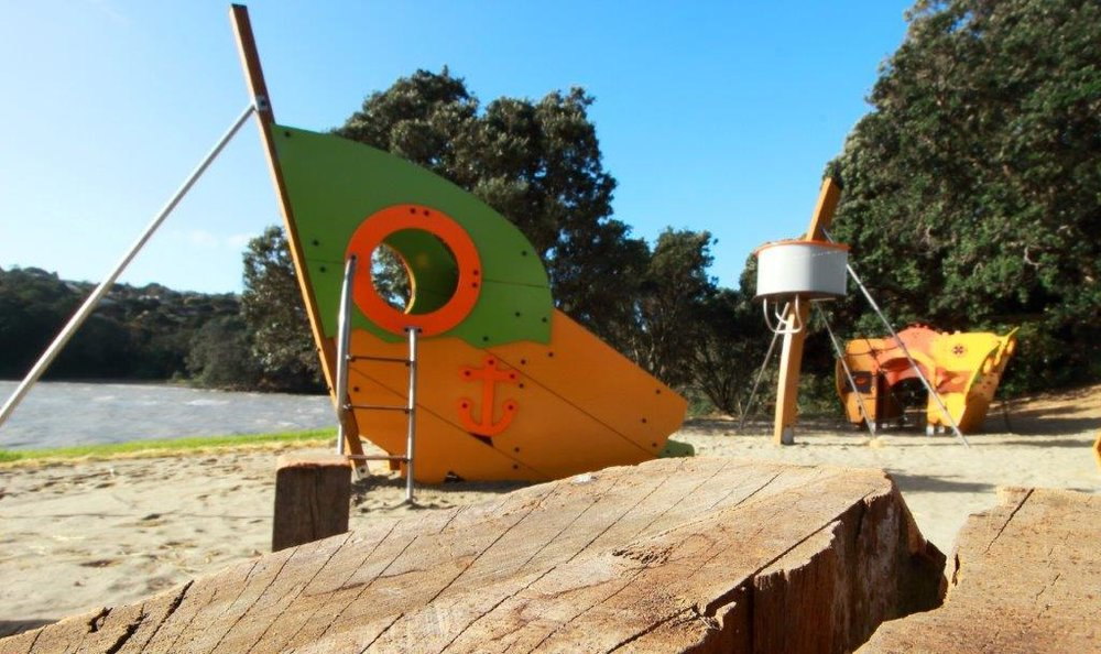 A Playground Equipment Ltd project in Island Bay.