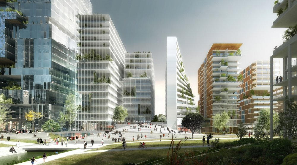 Les Lumières Pleyel is due for completion between 2023 and 2028.