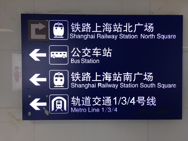 The many transport options in Shanghai