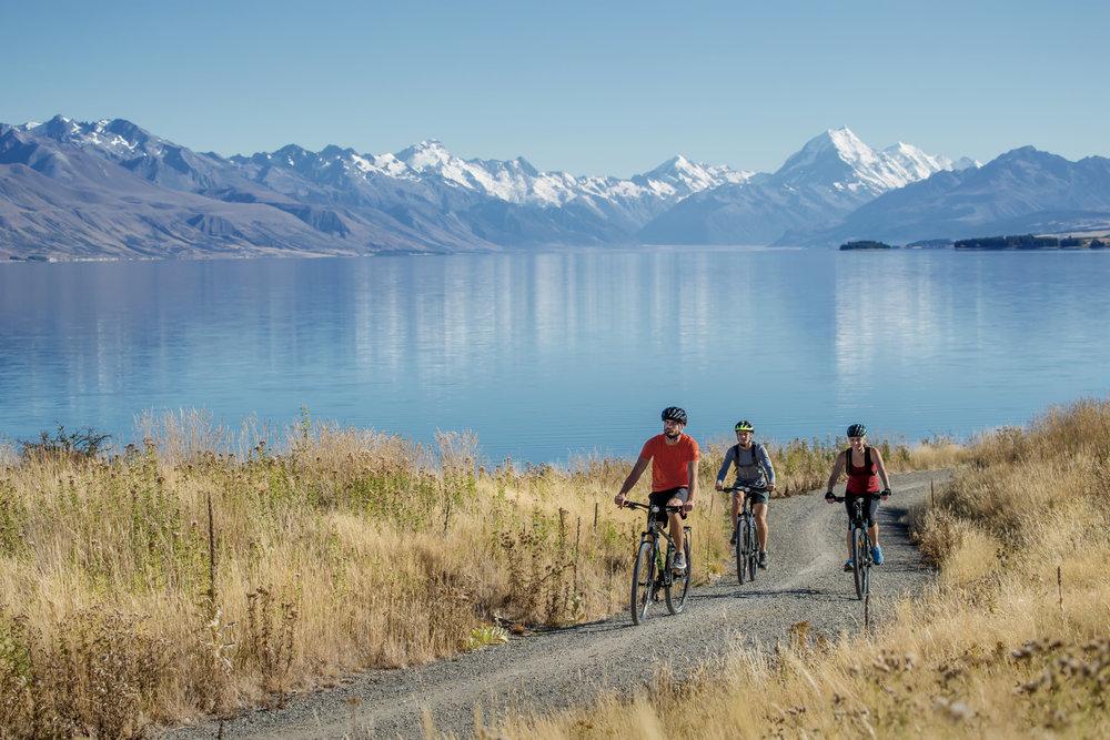 Biking and walking makes good financial sense. Photo credit:Camilla Rutherford.