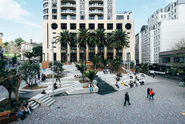 The Freyberg Place project was a winner in the Heritage category. Photo credit David St George.