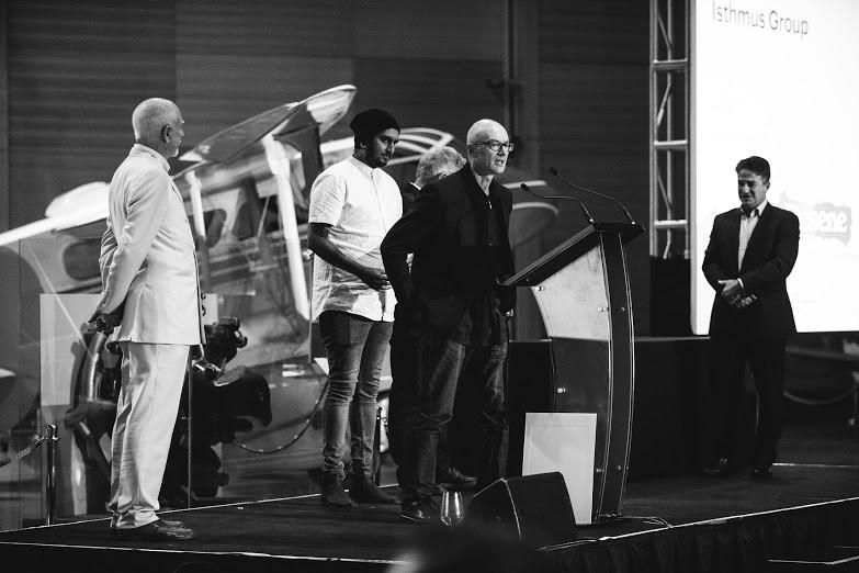 The NZIA awards presentation. Photo credit David St George.