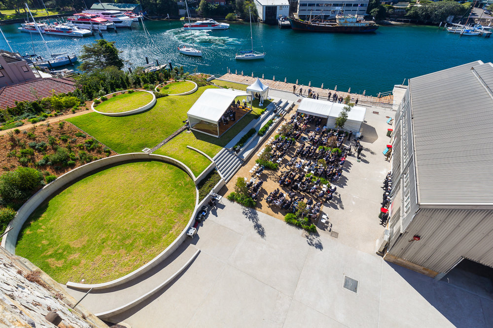 Sub Base Platypus is now open to the public after being closed off for 150 years. Photo credit: Urban&Public.