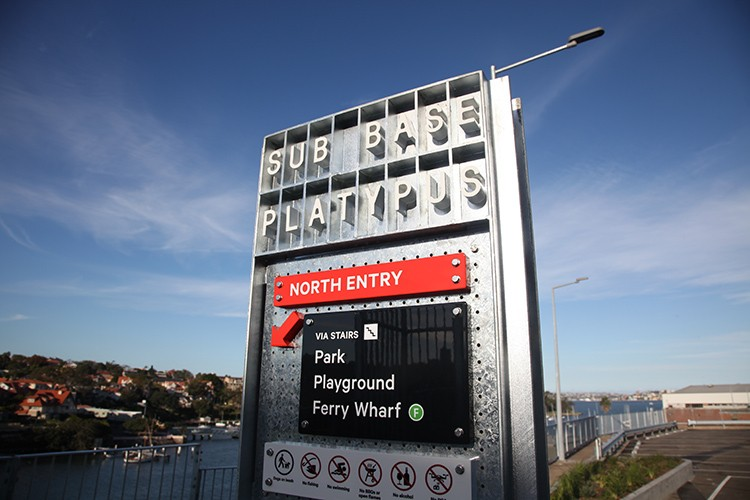 The Sydney Harbour Federation Trust wants the area to become a cultural and commercial hub. Photo credit: Urban&Public.