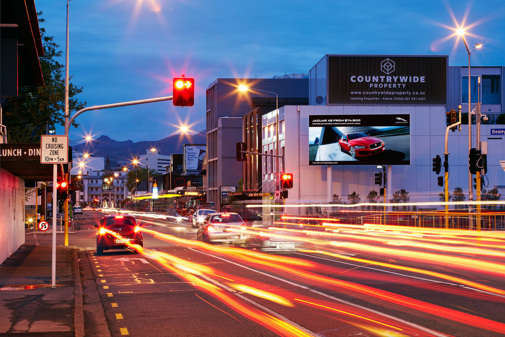 Boffa Miskell was asked to develop a guidance document on electronic billboards.