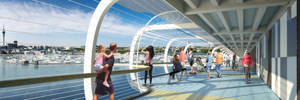 The SkyPath observation deck. Image credit - Reset Urban Design.