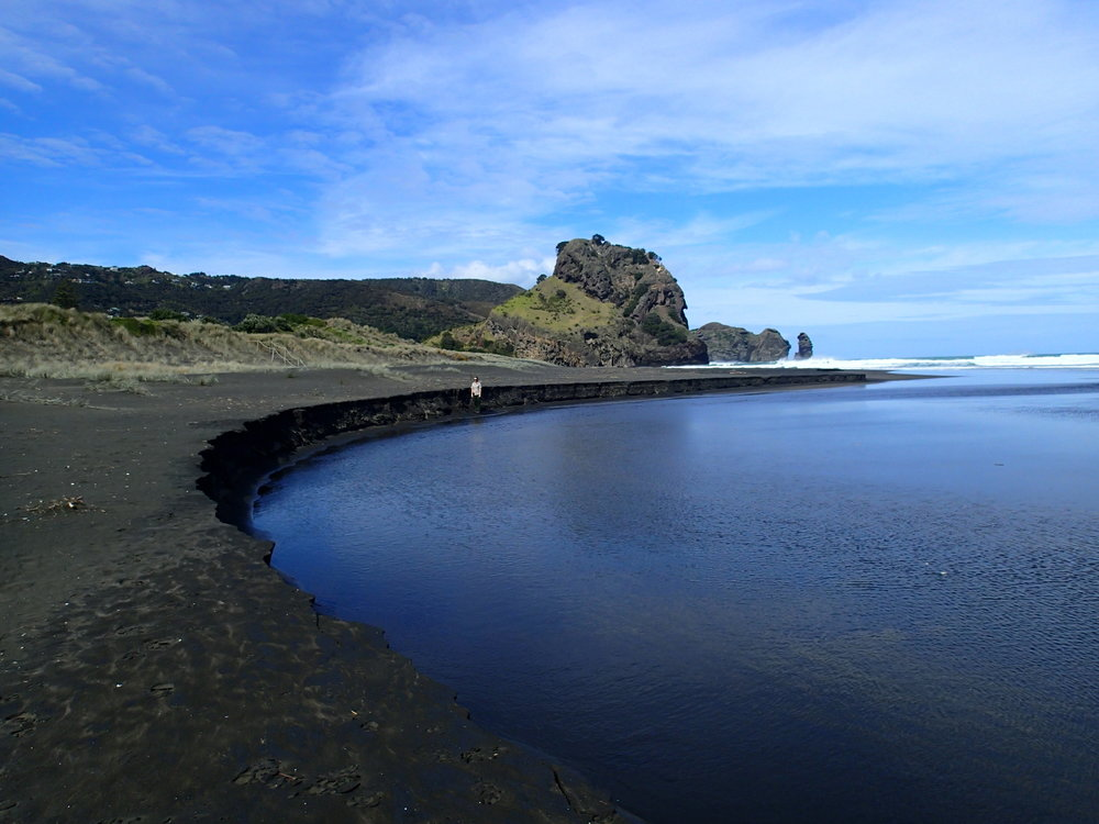 The management of streams at North Piha near Auckland is an example of the next rung up the adaptive planning ladder.