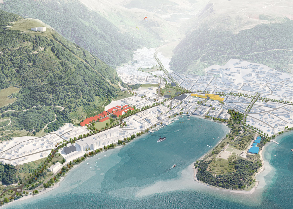 The Queenstown Masterplan has been adopted by the Queenstown Lakes District Council.