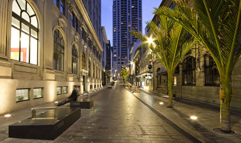 Shared space streets like O'Connell St in central Auckland are integral to the story of how Auckland is evolving as a place for people.