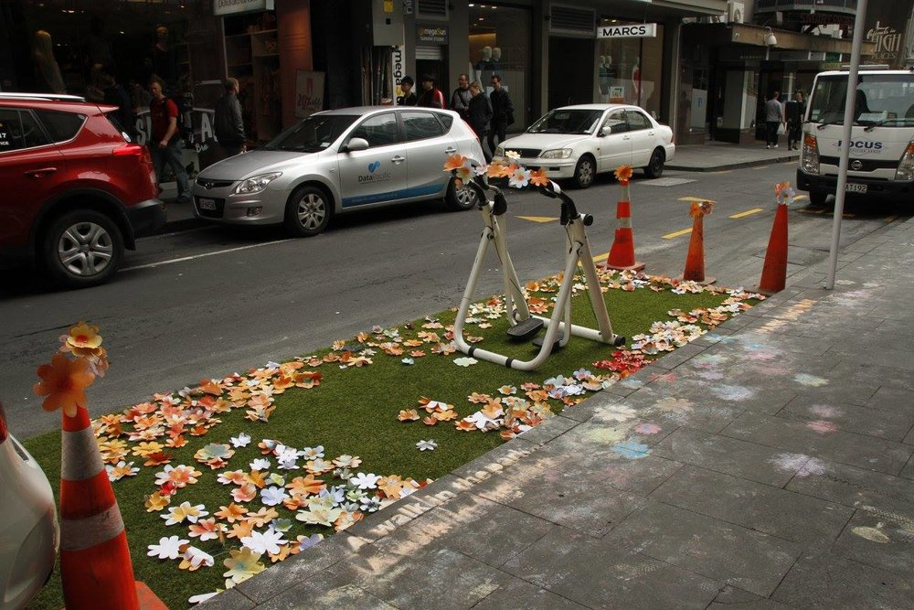 Park(ing) day aims to highlight the importance of public spaces.