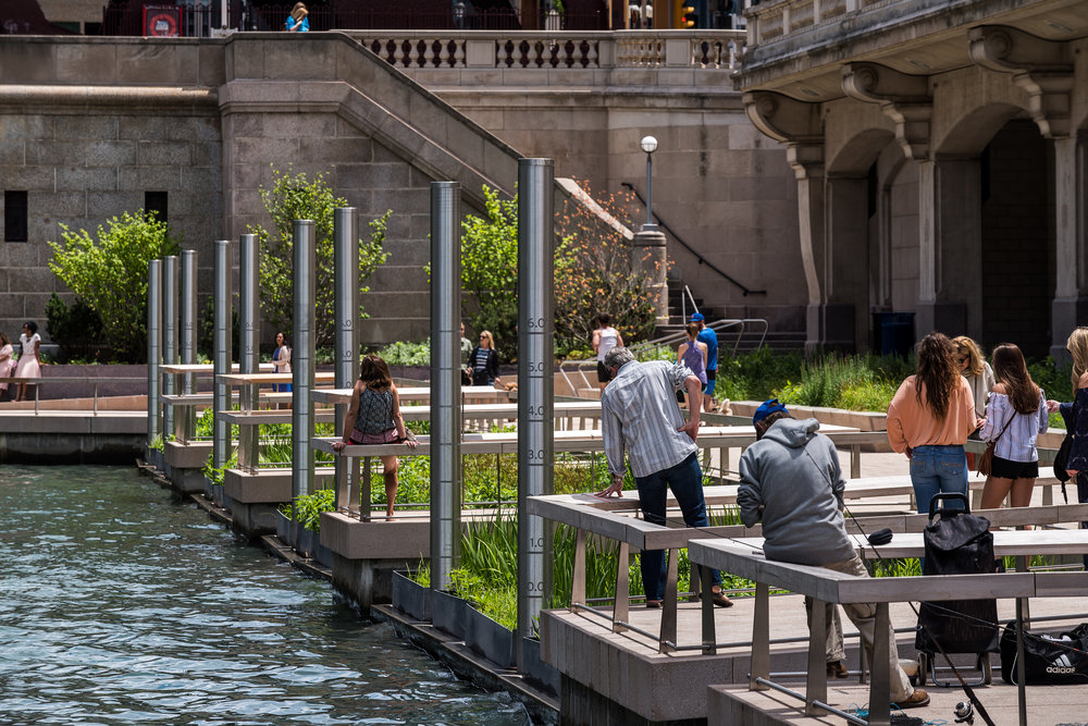 The Chicago Riverwalk covers six blocks. Image credit - Christian Phillips Photography