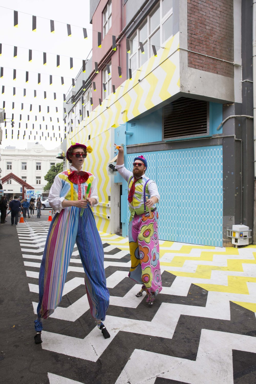 Police say crime is down in the newly revitalised laneways in the capital.