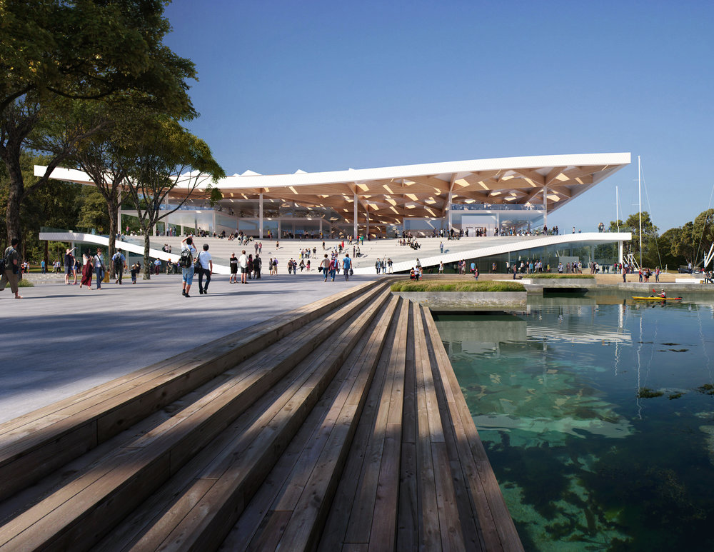 The Sydney Fish Market is set to move to Blackwattle Bay. Image credit - www.mir.no