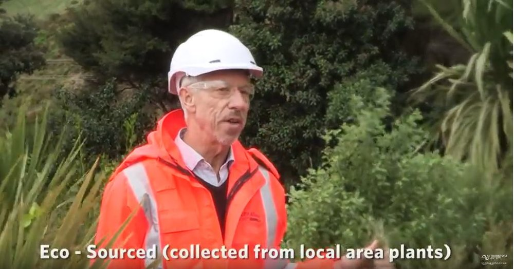 Steve appeared in a NZTA video 18 months ago.