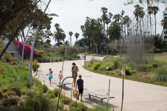 Santa Monica's Tongva Park has transformed a former car park into a community asset. Image courtesy of the City of Santa Monica