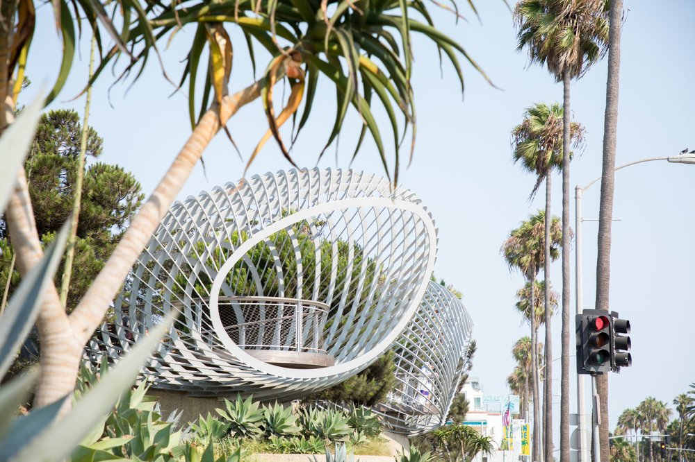 The park has become hugely popular. Image courtesy of the City of Santa Monica.