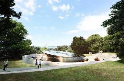 National Erebus Memorial concept 003.