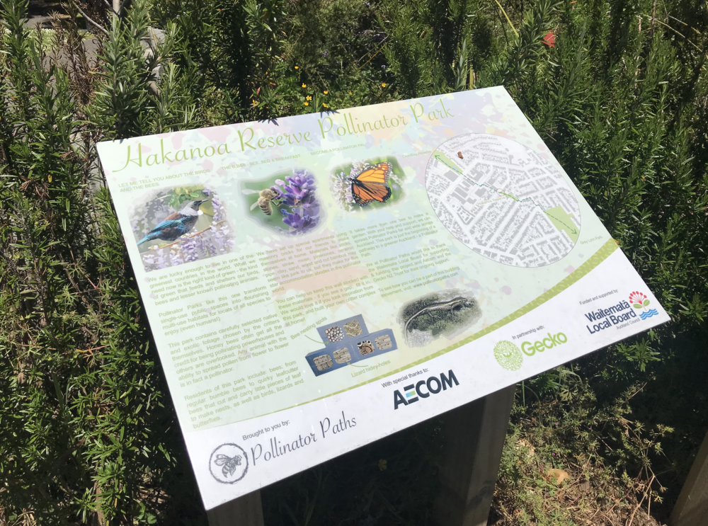 Andrea Reid has been working on the Pollinator Paths concept since 2014.