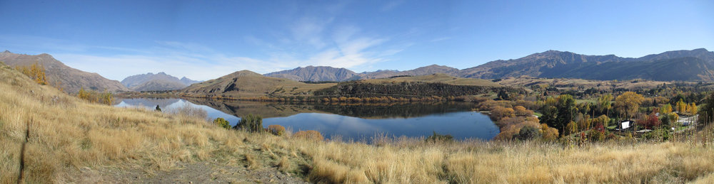 Lake Hayes, Queenstown, in autumn. This district includes probably the most assessed and argued over landscapes in the country.